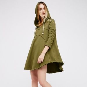 FREE PEOPLE Luna Hoodie Dress